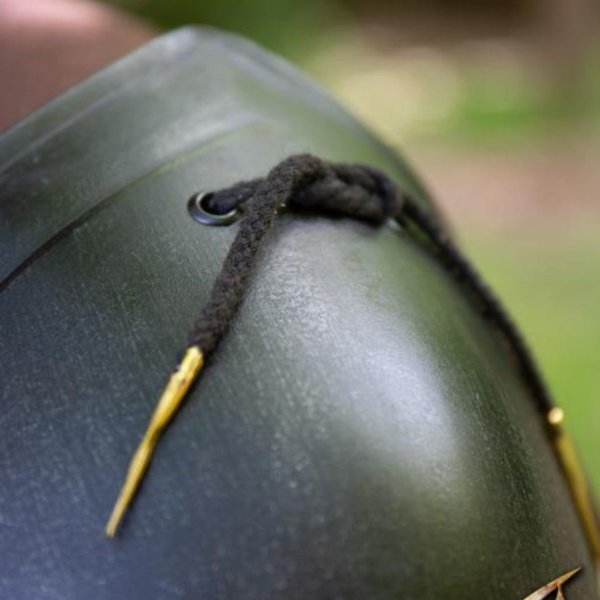 Epic Armoury Scout Schulterplatten geschwärzt