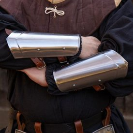 Epic Armoury Armschienen mittelalter Scout polierten