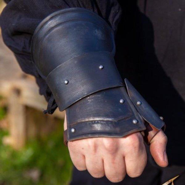 Epic Armoury Demi-guanti Scout nero