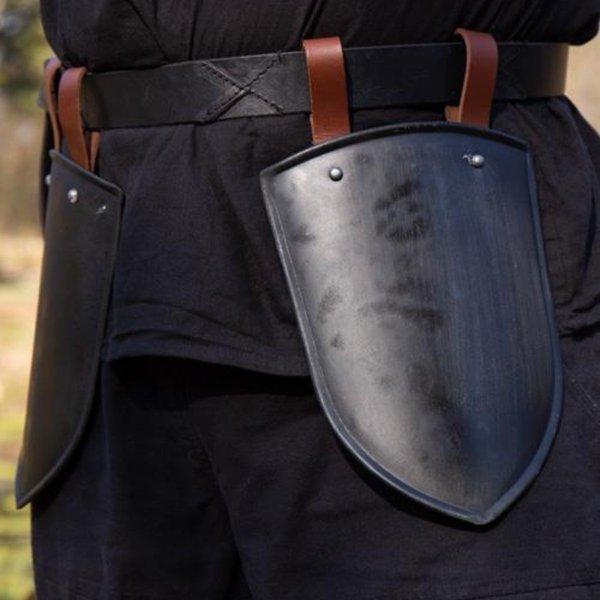 Epic Armoury Lår rustning Scout svart
