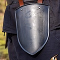 Epic Armoury Låret rustning Scout sort