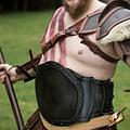 Epic Armoury LARP barbarisk kyras, sort