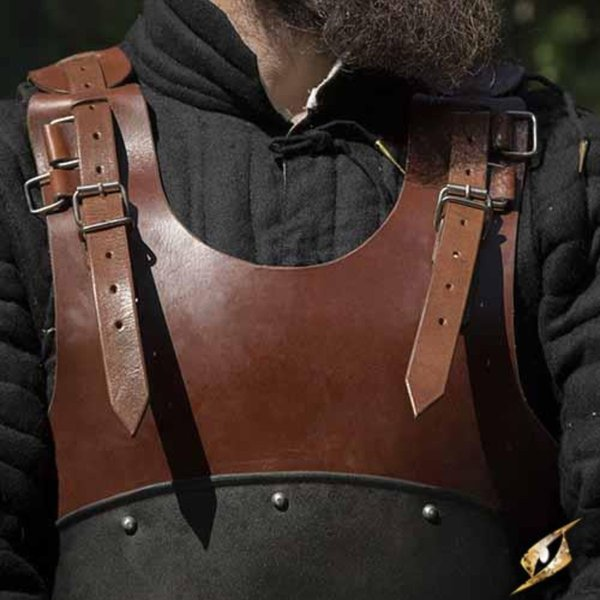 Epic Armoury LARP bröstplåt Rogue, svart-brun