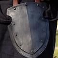 Epic Armoury Lår rustning kapten, svärtad