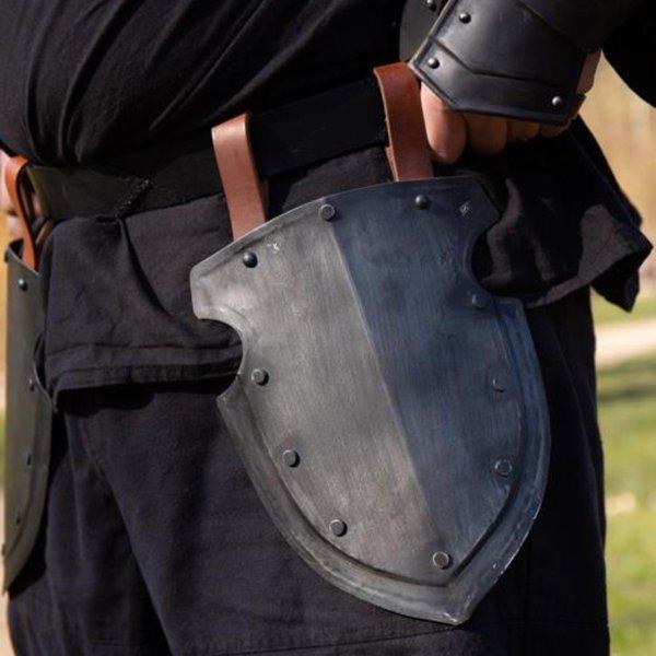 Epic Armoury Thigh armour Captain, blackened