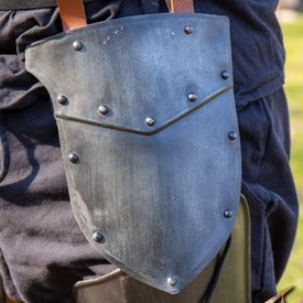 Epic Armoury Thigh rustning infanteri, sværtede