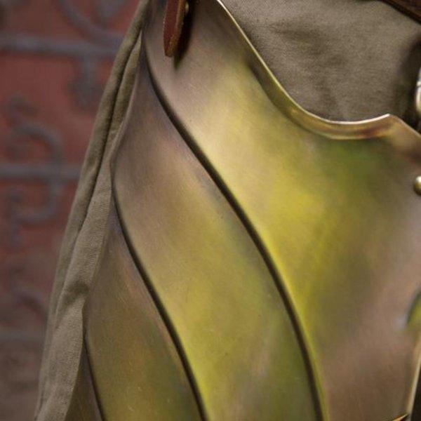 Epic Armoury Coscia armatura in bronzo Illumine