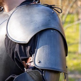 Epic Armoury Medeltida Pauldrons Richard, bronsfärgade