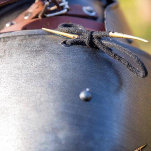 Epic Armoury Middelalderlige pauldrons Richard, bronzeret