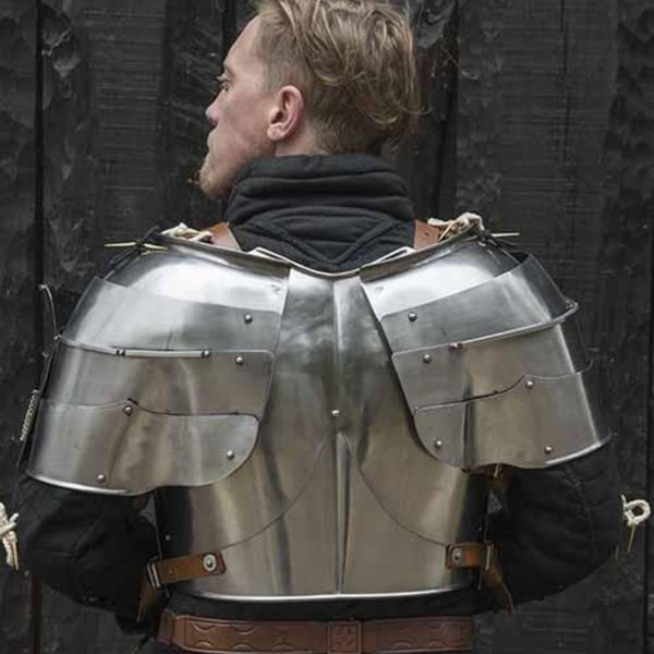 Epic Armoury Spallacci medievali Milanese, lucido