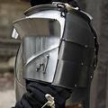 Epic Armoury Middeleeuwse pauldrons Milanees, gepolijst