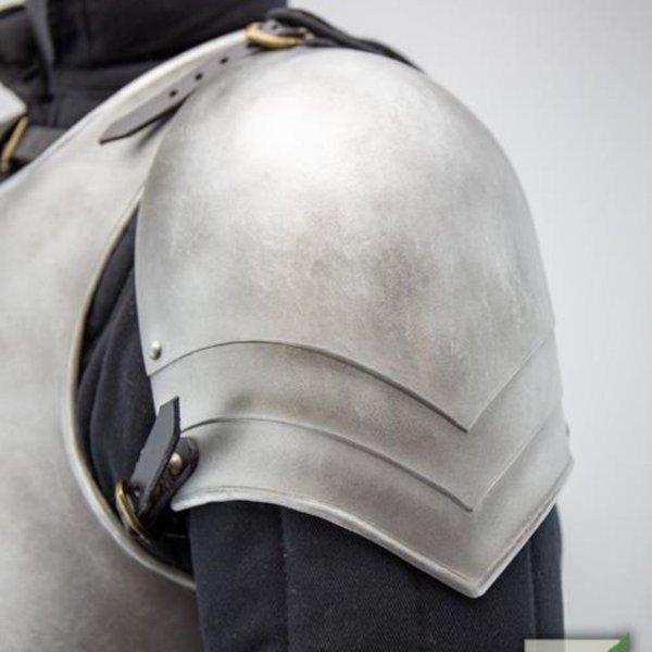 Epic Armoury LARP middeleeuwse pauldrons Mercenary