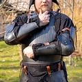 Epic Armoury 15: e århundradet fullt armskydd, bronsfärgade