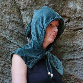 Leonardo Carbone Kaproen met kraag, groen