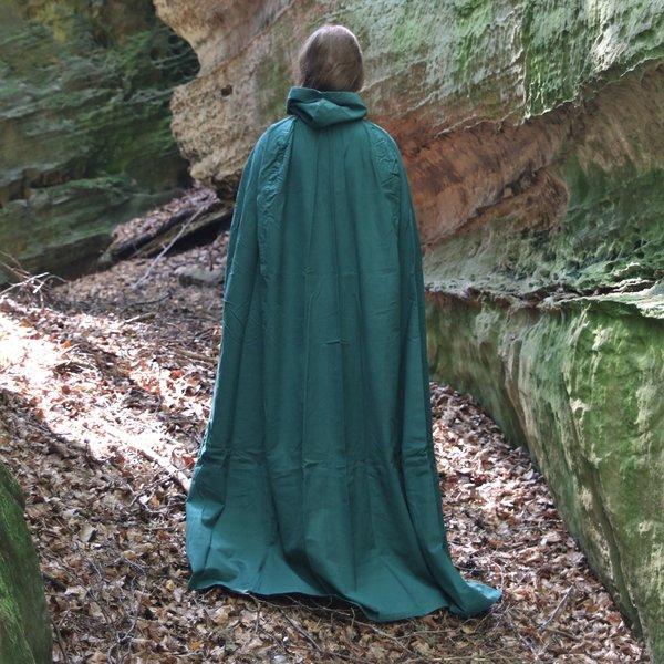 Leonardo Carbone Katoenen mantel, groen
