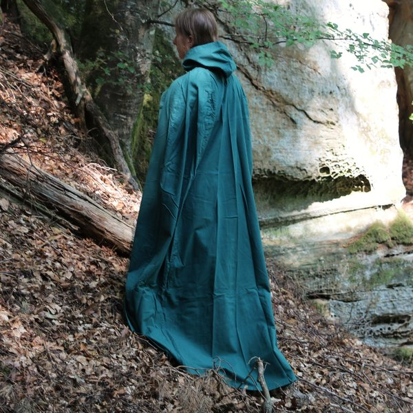 Leonardo Carbone Mantello di cotone, verde