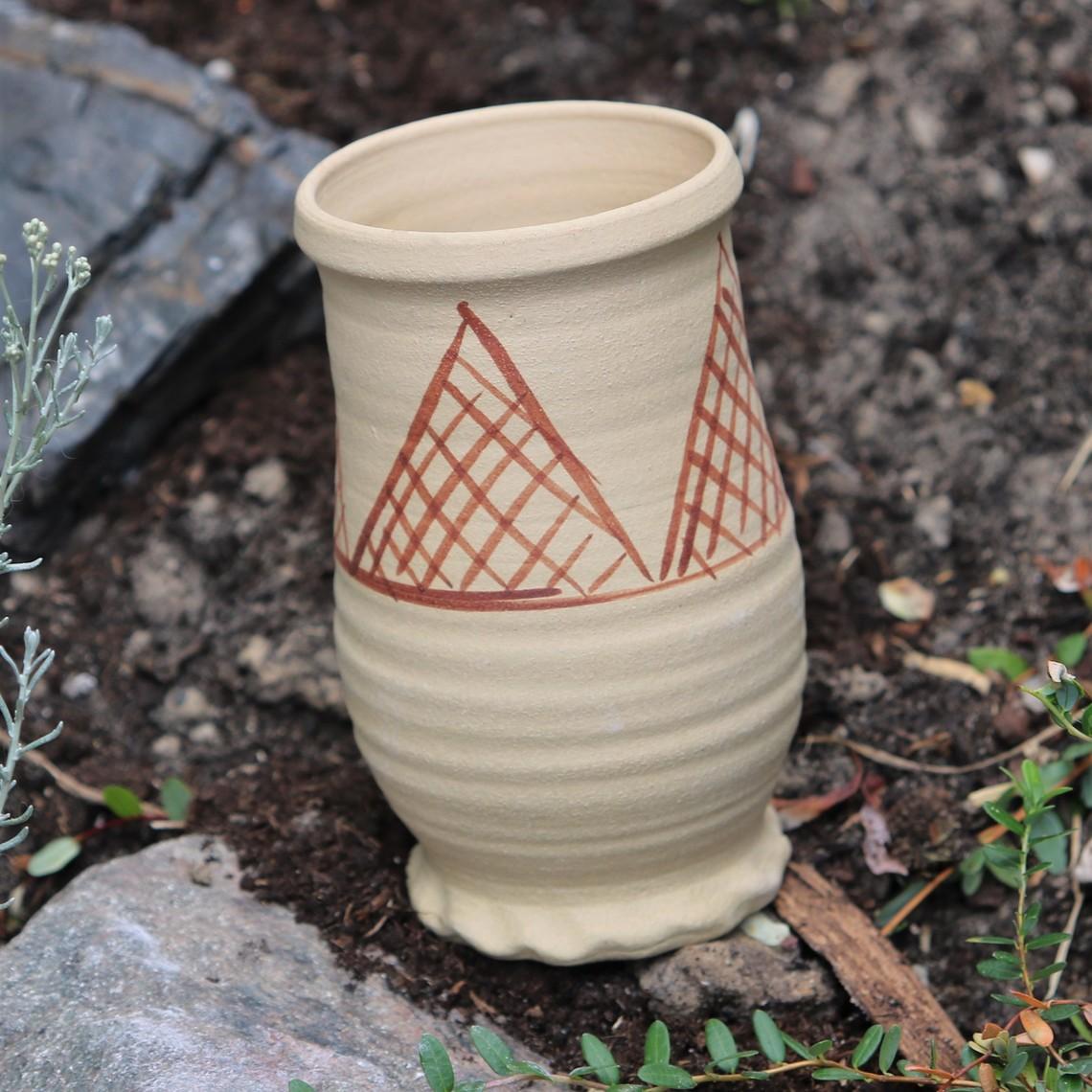 Pingsdorf tazza 10-12th secolo