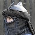 Epic Armoury turbante persa, negro
