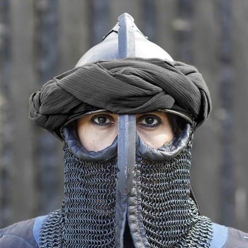 Perzische tulband, zwart