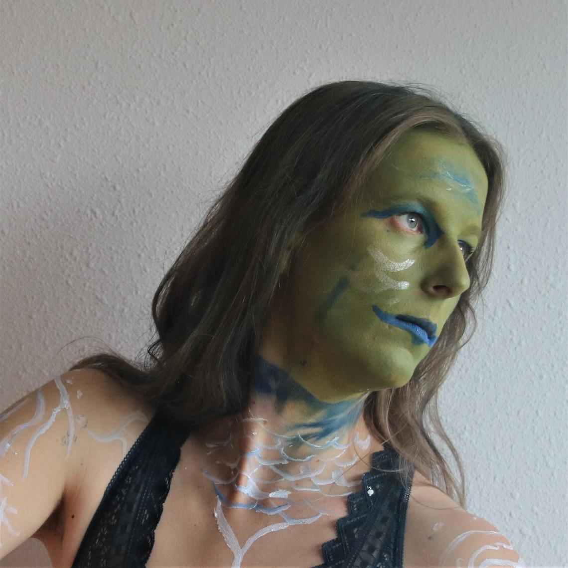 Epic Armoury Epic Effect LARP Maquillaje - Blanco, a base de agua