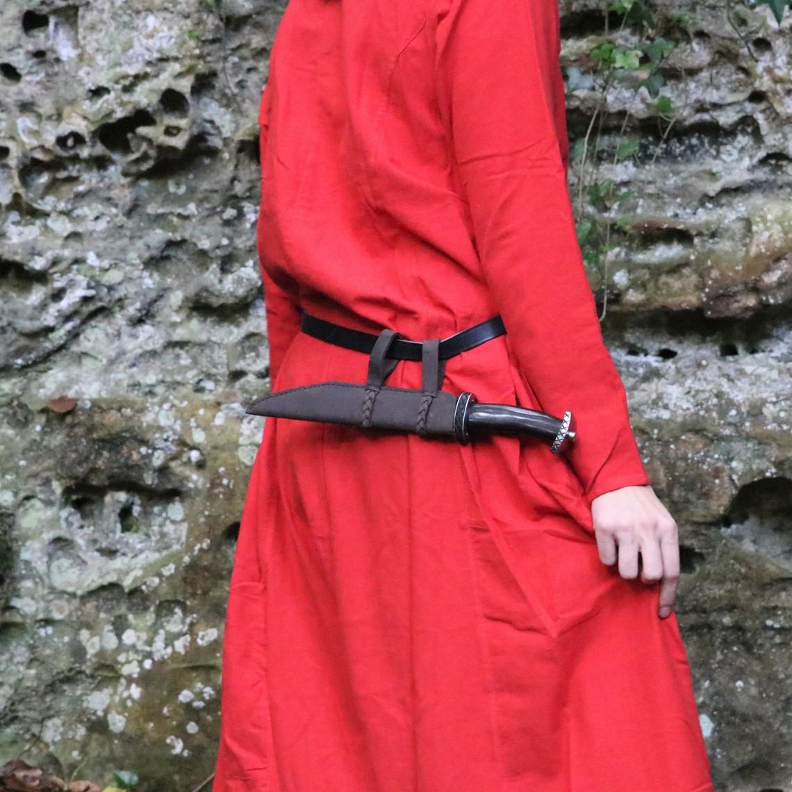 Leonardo Carbone Vestito vichinga Lina, rosso