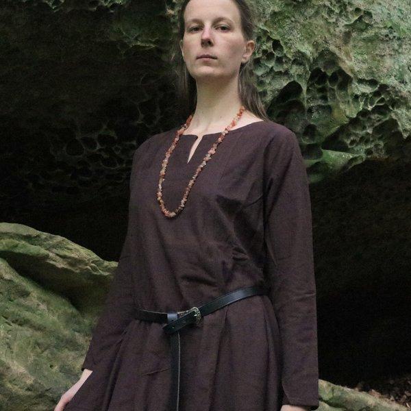 Leonardo Carbone Viking kjole Lina, mørkebrun