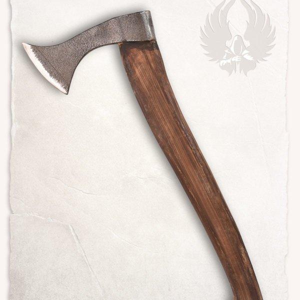Mytholon Franziska kasta yxa, battle-ready