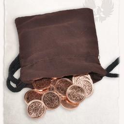 50 LARP monety woreczek z pieniędzmi