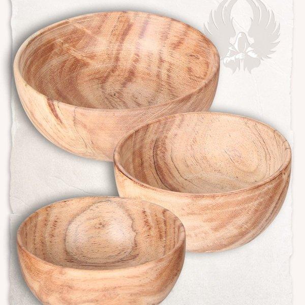 Mytholon Medievale ciotola di legno L