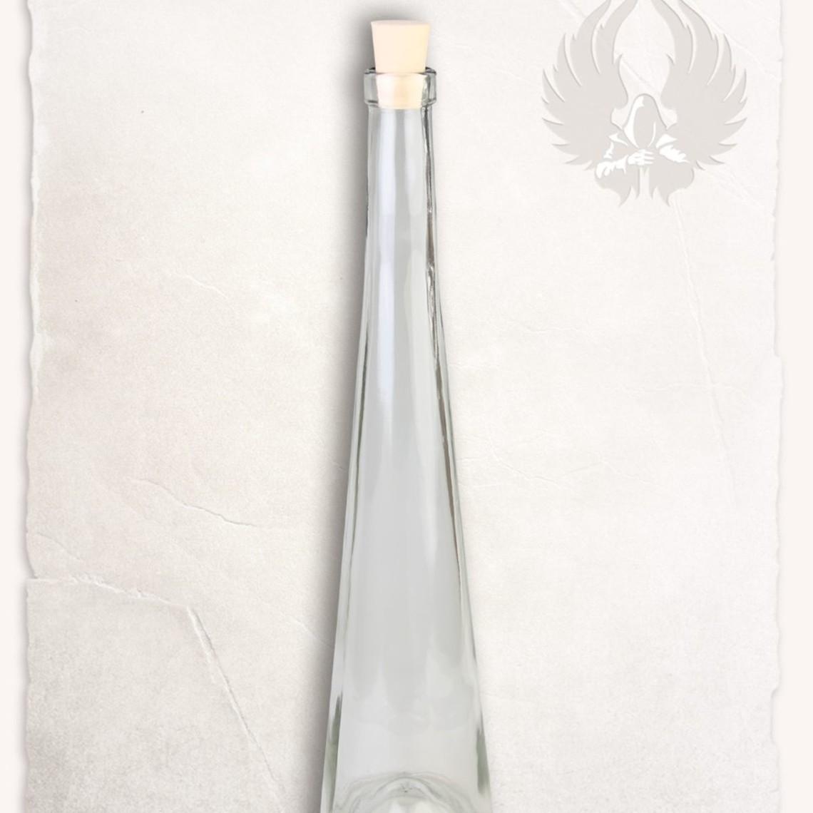 Mytholon szklanej butelki 500 ml z korkiem
