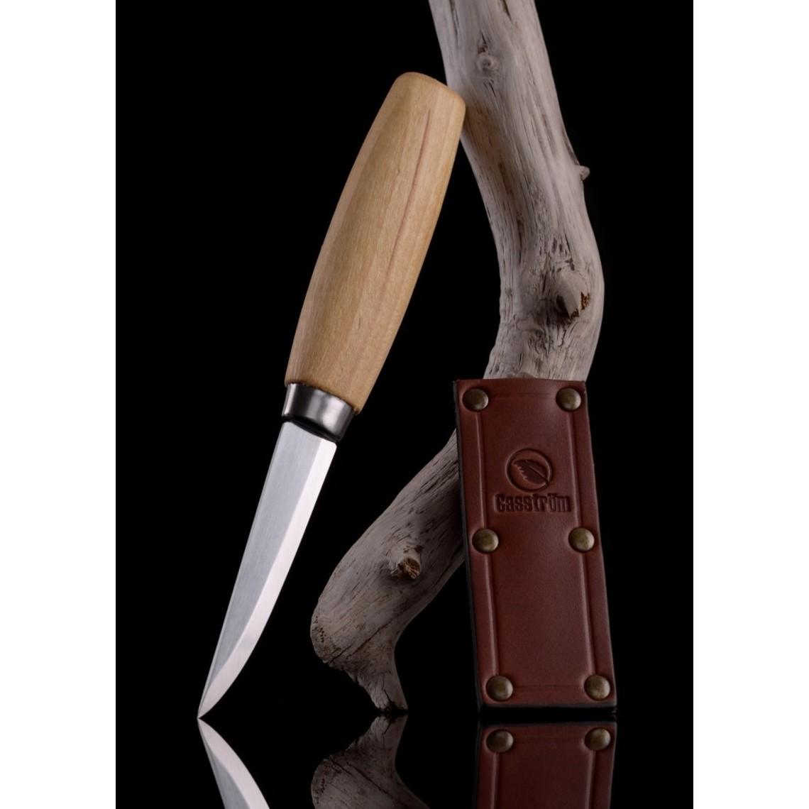 Casström Cuchillo tradicional para tallar en madera