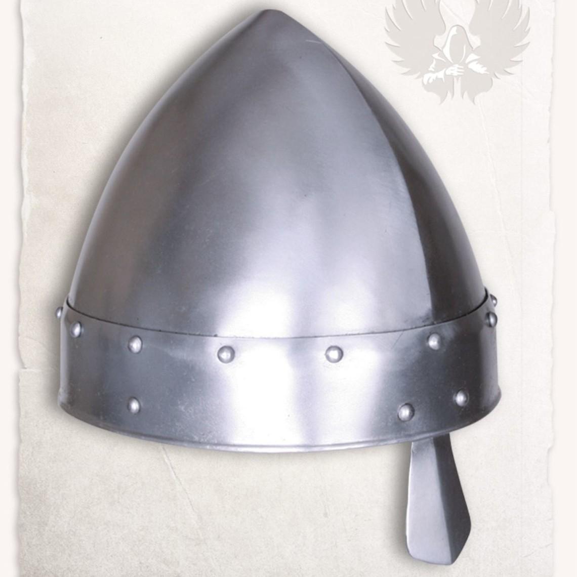 Mytholon Norman nasale casco Baldric lucido