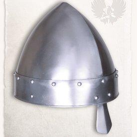 Mytholon Norman nasal hjelm Baldric poleret