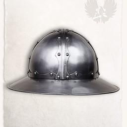 Średniowieczny żołnierz helm Jupp
