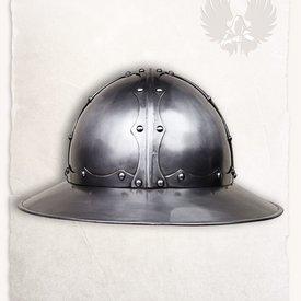 Mytholon Middelalder soldat hjelm Jupp