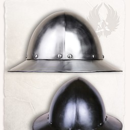15th century kettle hat Ralf polished
