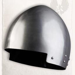 Medieval secreta helmet Rufus