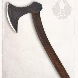 Mytholon hache viking Ornulf, prêt au combat