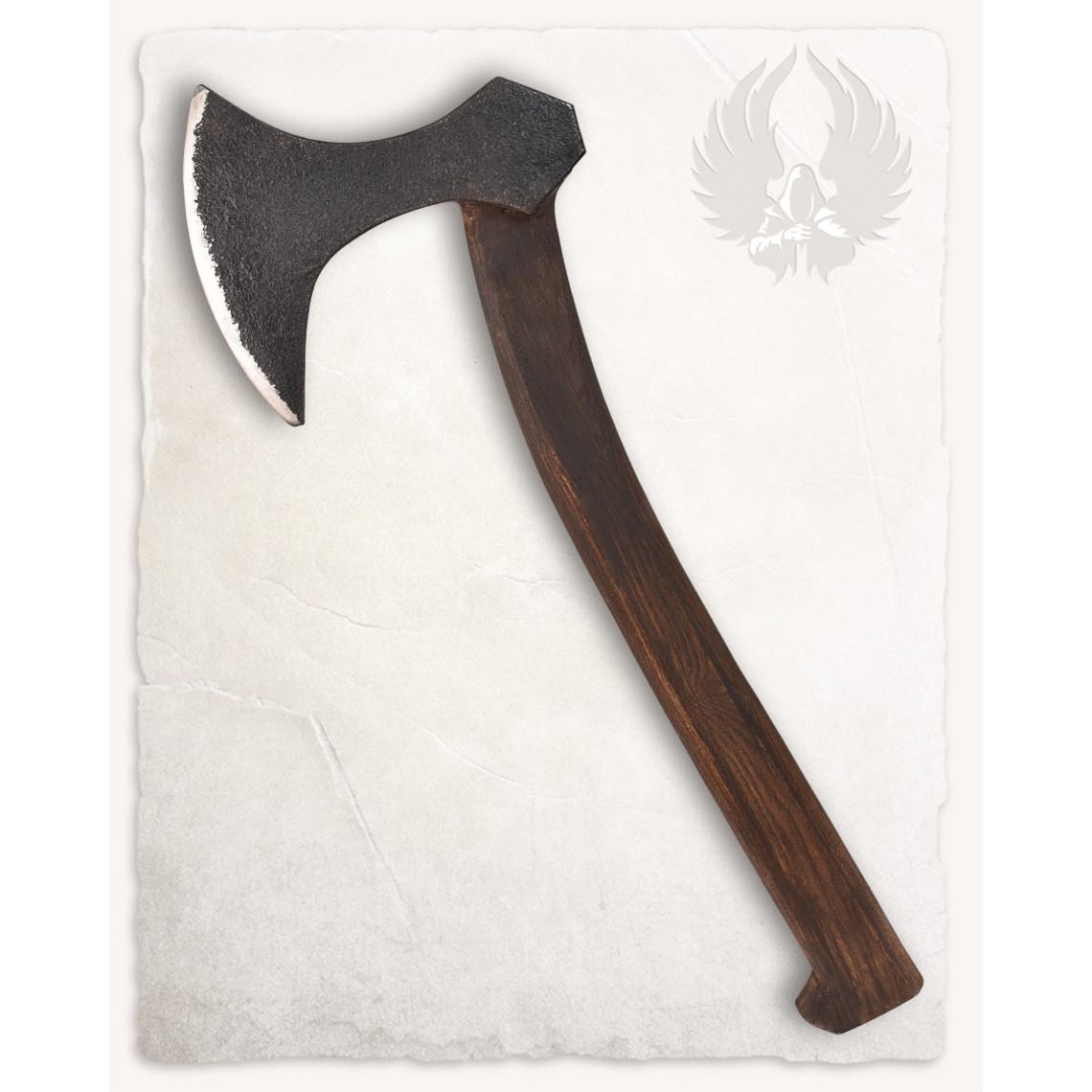 Mytholon Viking bijl Ornulf, battle ready