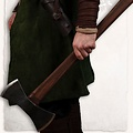 Mytholon Doppia vichinga ascia, battaglia-ready