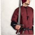 Mytholon Hand anderthalb Schwert Oswald, kampfbereit