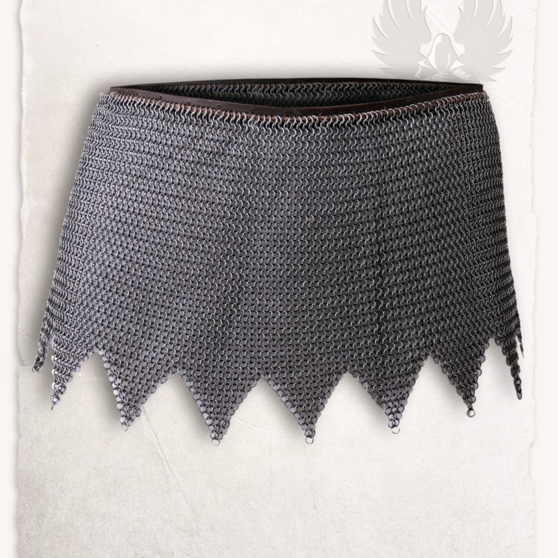 Mytholon Chainmail skirt Richard, mild steel, butted