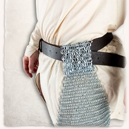 Chainmail chausses Richard, butted runde ringe
