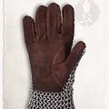 Mytholon Chainmail guanti Richard, anelli tondi butted