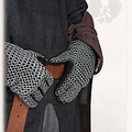 Mytholon Chainmail gauntlets Richard, butted round rings