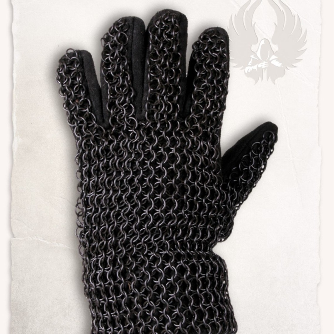Mytholon Maliënhandschoenen Richard, gebronsd