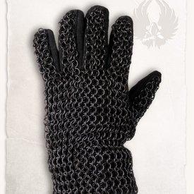 Mytholon Chainmail handskar Richard, bronsfärgade