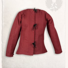 Mytholon secolo gambeson 15 Aulber, tela bordeaux
