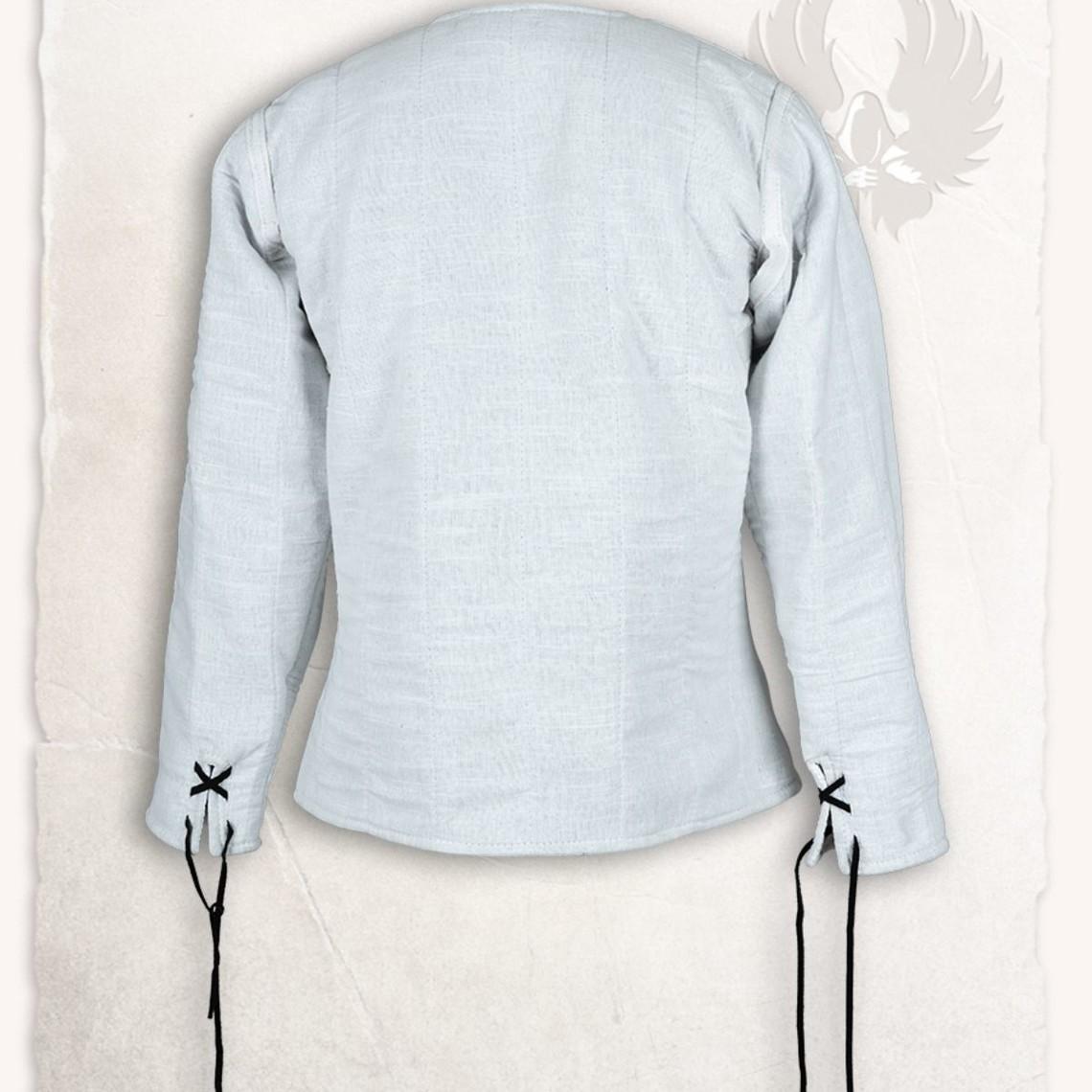 Mytholon Lino gambeson Aulber bianco
