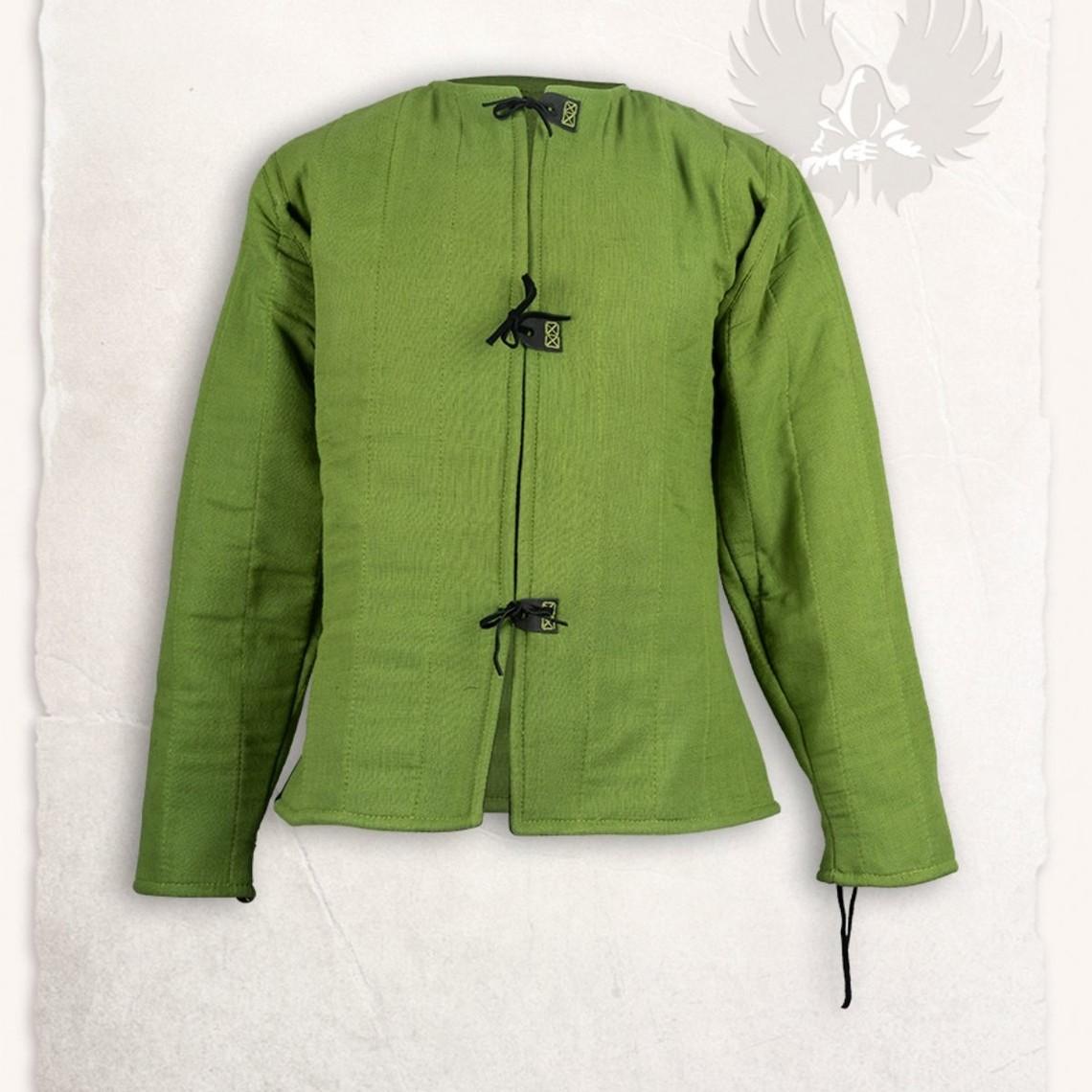Mytholon Leinen gambeson Aulber grün